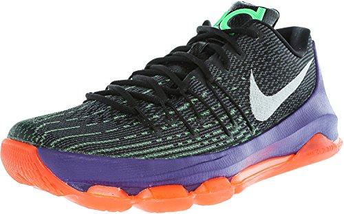 Nike Wmns Capri Ii, Damen Sneaker Black/White-green Shock-hyper Orange