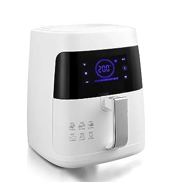 GRASSAIR Aire Freidora Digital De La Freidora 2, 5 L 1400 Vatios Pantalla LED Grande con Control Táctil del Sensor Y Función De Memoria, Lavable Cesta De ...