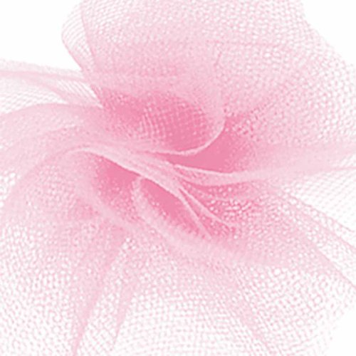 Offray Tulle Craft Ribbon, 6-Inch by 100-Yard, Pink (Discontinued by Manufacturer)