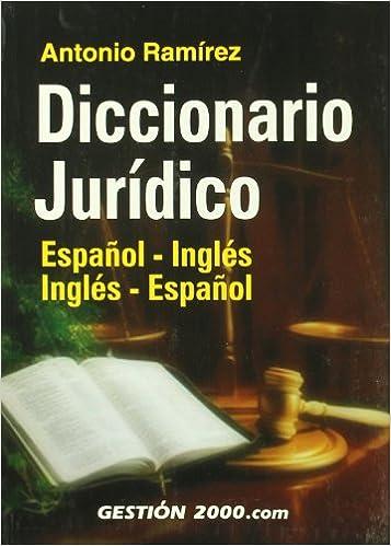 Book Diccionario Juridico: Espa~nol-Ingles, Ingles-Espa~nol (Spanish Edition)