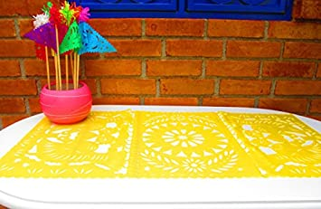 Mexican Party Decorations, Wedding Decorations, Fiesta Party Decor, Mexican  Paper Table Runner ,