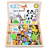 Best Educational Boards - Wooden Toy Magnetic Dry Erase Board Puzzles 100 Review