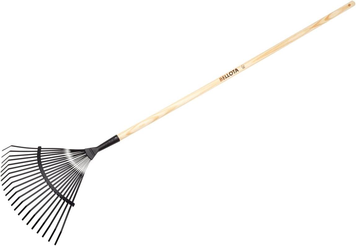 Bellota 3041 CM - Escoba para limpiar tu jardin de madera y cabezas de acero