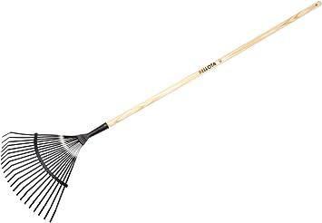 Bellota 3041 CM - Escoba para limpiar tu jardin de madera y cabezas de acero: Amazon.es: Bricolaje y herramientas