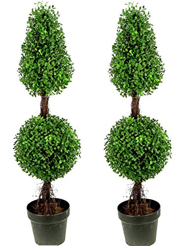 Admired Nature Artificial Boxwood Two tone product image