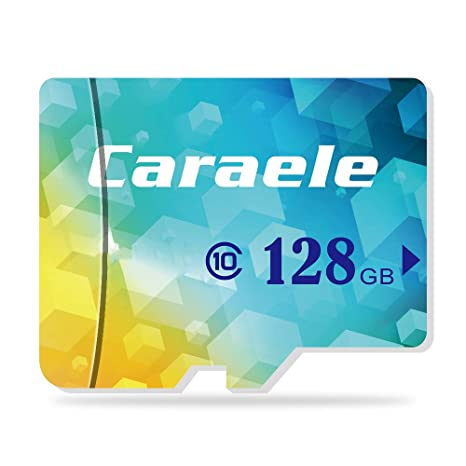 Tarjeta Micro SD de Alta Velocidad U1 Clase 10 Tarjeta de Memoria Micro SD para Cámara/teléfonos móviles/Tableta (128GB)