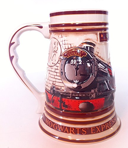 Harry Potter 39 Ounce Hogwarts  Express Train Ceramic Stein Mug