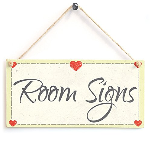 Room Signs With Heart Wood Sign By meijiafei