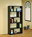 Coaster Contemporary Cappuccino Bookcase