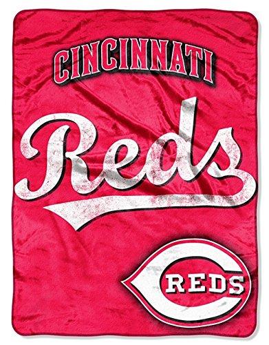 60' Micro Raschel Blanket - Cincinnati Reds 46'' X 60'' Micro Raschel Throw Blanket - Triple Play Design