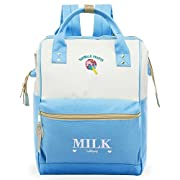 ZOMAKE Kawaii Travel Backpack,School Backpack with Wide Doctor Style Top Opening