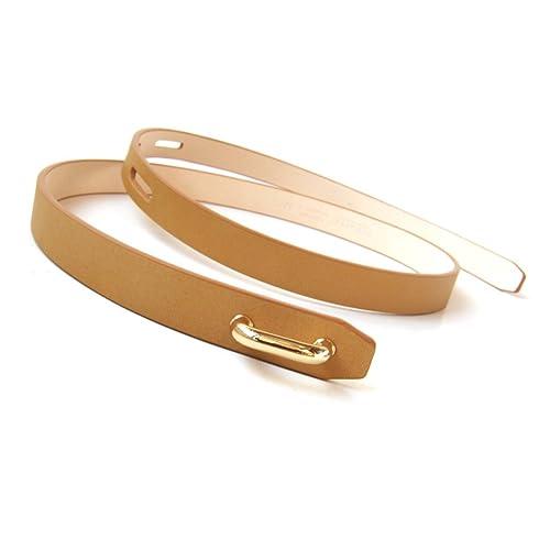 Moda,Selvatici,Cintura Sottile Cravatta Nera Signora,Matching Cappotto,Vestito,Cintura Decorativa