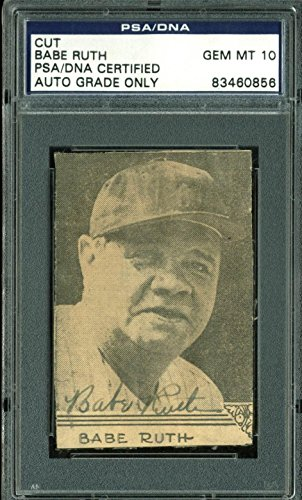 Yankees Babe Ruth Signed 2.15xx3 Cut Signature Auto for sale  Delivered anywhere in Canada