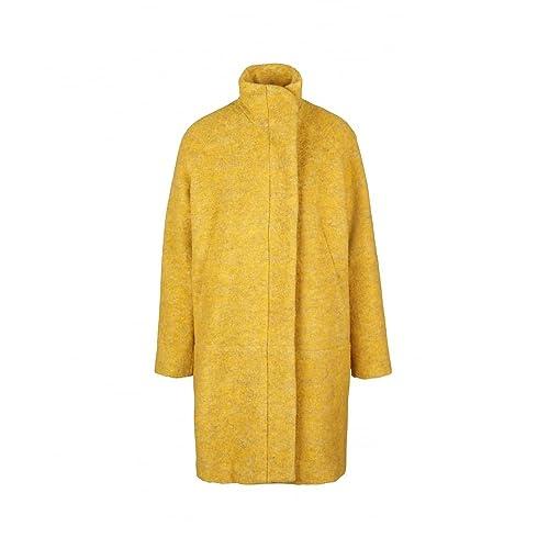 Samsøe & Samsøe – Abrigo – trenca – para mujer amarillo Small