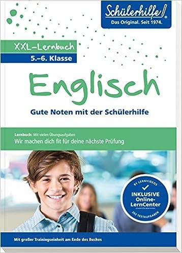 Xxl Lernbuch Englisch 56 Klasse Gute Noten Mit Der Schülerhilfe