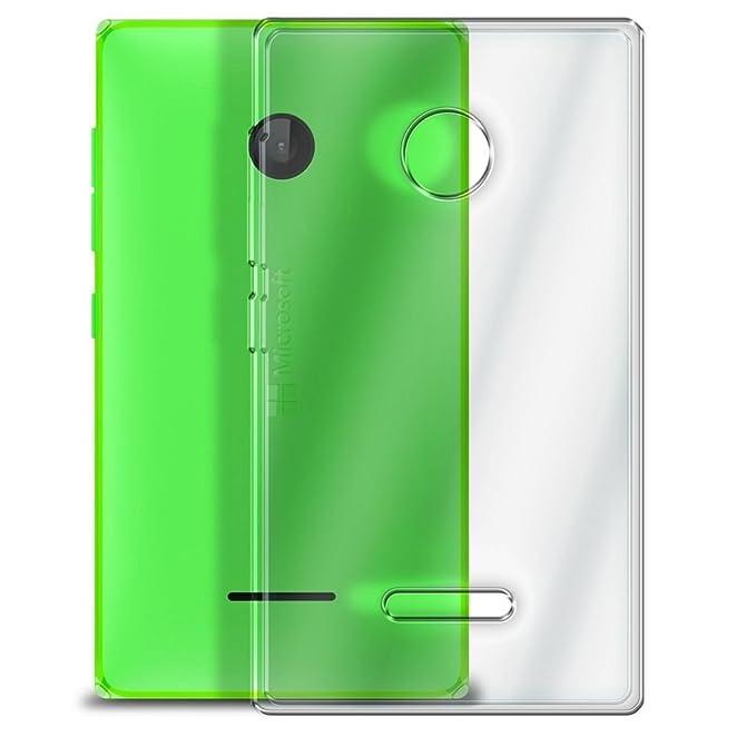 85 opinioni per Cover Trasparente per LUMIA 435 Microsoft Custodia TPU Morbida slim 0,3 mm