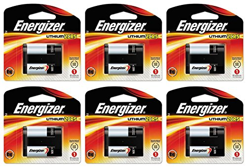 6 Energizer 2CR5 Lithium Camera Photo 6V Batteries (2cr5m Battery)