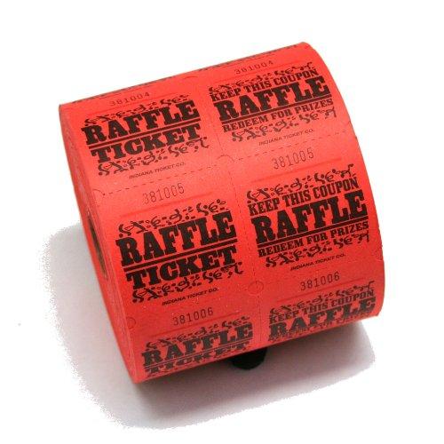 1000 raffle tickets - 2