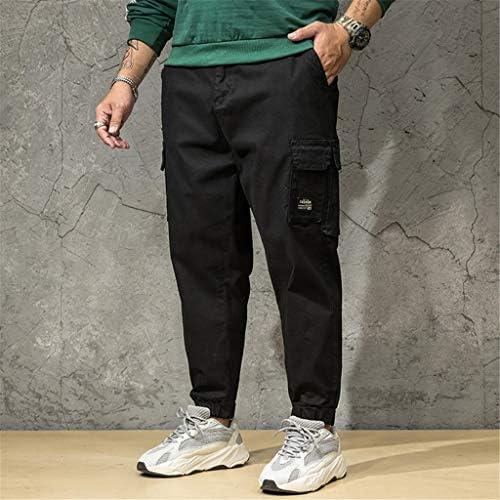 メンズサマーパンツカジュアルロングスケートボードストレートファッションポケットプラスサイズ