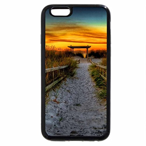 iPhone 6S / iPhone 6 Case (Black) Walking towards the sunset
