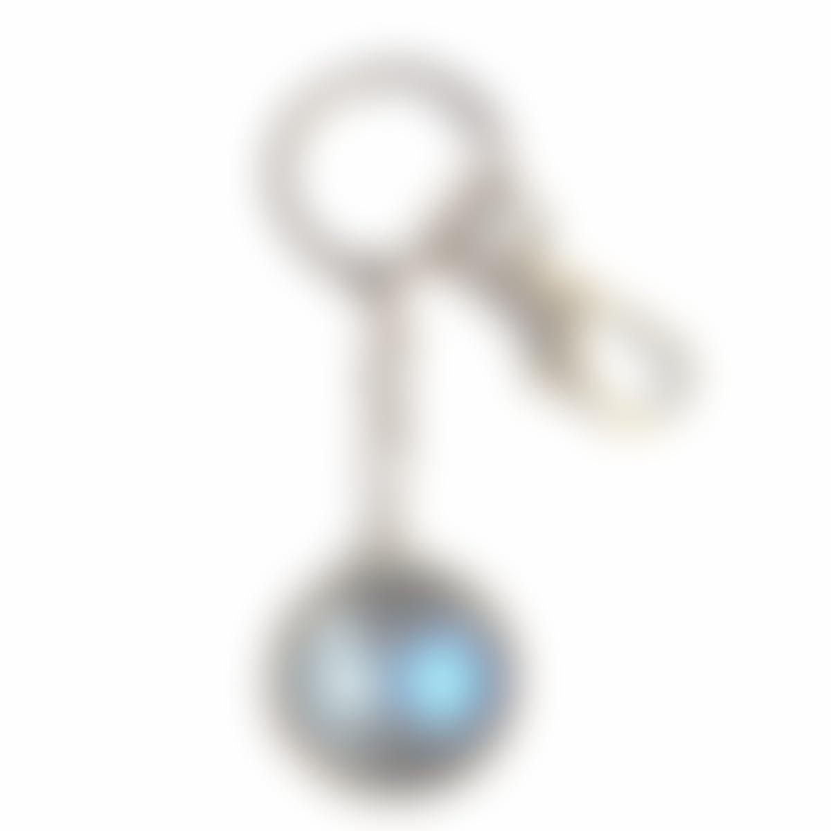 Amazon com: Handmade Key Ring Cute Keyring Arc Reactor