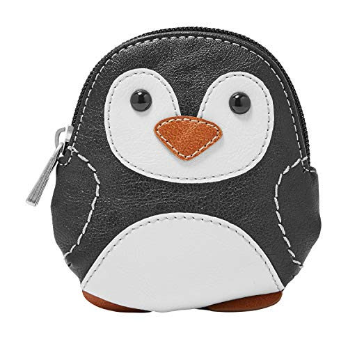 Relic by Fossil Relic Novelty Zip Coin Black/White, Penguin