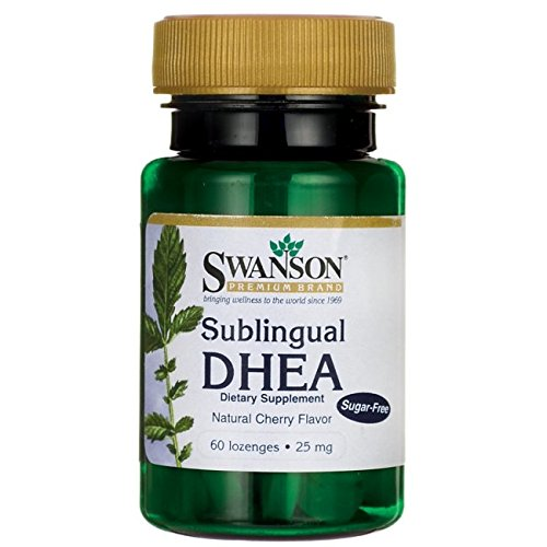 Swanson Sublingual Dhea Sugar Free Lozenges