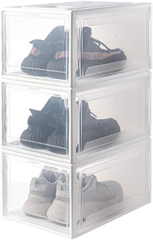 ChuckSss Caja De Zapatos,Caja De Zapatos De Almacenamiento ...