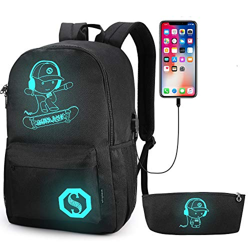 School Backpack Pawsky Anime