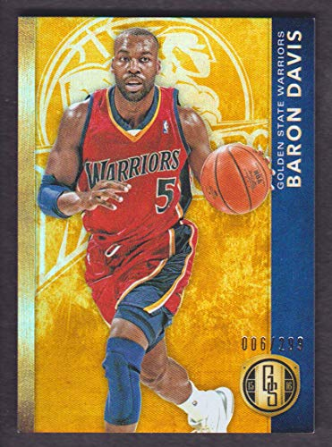 Baron Davis Warriors (2015-16 Panini Gold Standard Basketball #159 Baron Davis /299 Golden State Warriors)