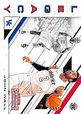 2018-19 Panini Contenders Draft Picks Basketball Legacy #15 John Wall Kentucky Wildcats/Washington Wizards Official NBA Trading Card