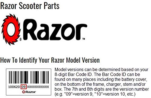 Razor E100/E125/150/E175 Electric Scooter Rear Wheel