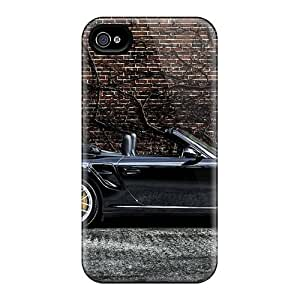Snap-on Cases Designed For Case Samsung Galaxy S4 I9500 Cover- Porsche 997 Turbo S Cabriolet