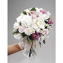 Silk Bouquet Flower Arranger 9 Inches (3-Pack)