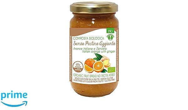 Probios Compota para Untar con Naranja y Jengibre - Paquete de 6 x 220 gr - Total: 1320 gr: Amazon.es: Alimentación y bebidas