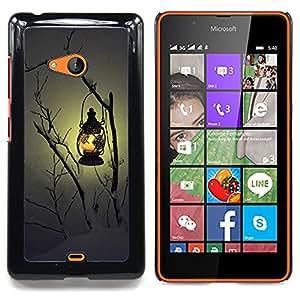 """Planetar ( Luna Drácula Castillo de Halloween Bat"""" ) Nokia Lumia 540 Fundas Cover Cubre Hard Case Cover"""