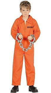 WIDMAN Cárcel del Condado de Preso - Disfraz Infantil ...