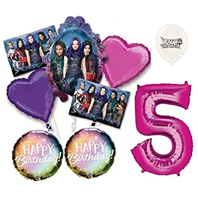 Descendants 3 Party Decoration Bouquet of Balloons BTM (5th Birthday): Health & Personal Care