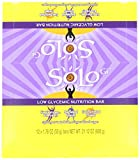 SoLo Gi Energy Bar Lemon Lift Gluten Free Low Glycemic with 10 grams of Protein, 1.76oz (50g) (1 Box of 12 Bars)