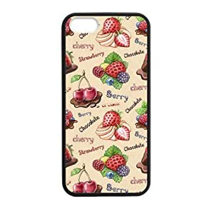Cake Sour & Sweet Case for iPhone 5 5s protective Durable black case
