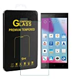 Innker Touch Sensitive Tempered-Glass Screen Protector your BLU LIFE PURE XL [9H Hardness] [Premium Crystal Clear] [Scratch-Resistant] [No-Bubble Installation],