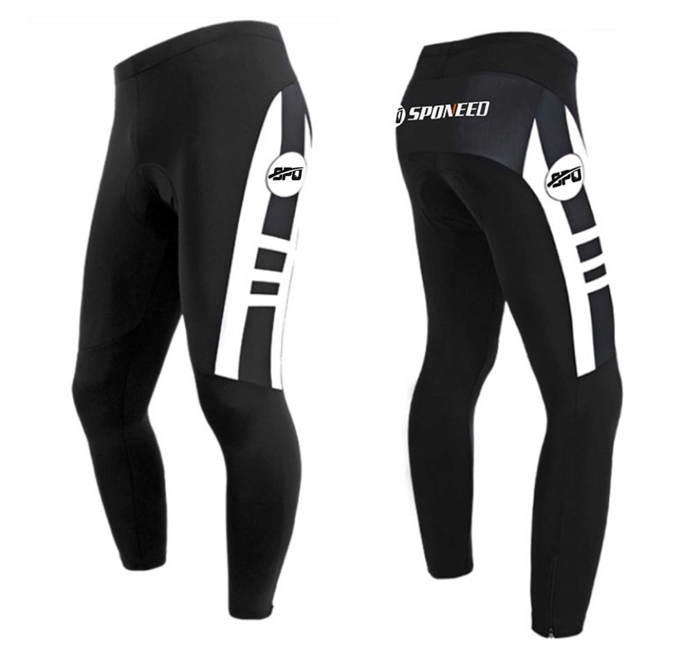 sponeed Cyclist Jersey Long sleeve Bicycle Uniforms Cycle Clothing Autumn Bike Tights size S Multi