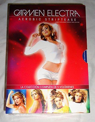 Carmen Electra : Aerobic Striptease La Colección Completa Serie TV DVD