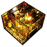 sport fitness DIY Doll House DIY Dollhouse With Cover Light Gift Freedom Rock Game House Collection Toy Gift For Children & Friend