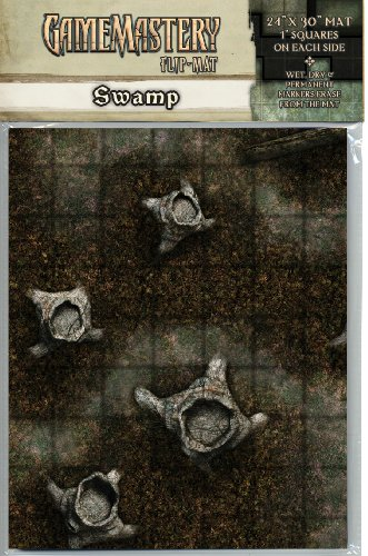 GameMastery Flip-Mat: Swamp (GameMastery Map Pack) (Gamemastery Flip Map)
