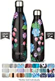 MIRA Vacuum Insulated Travel Water Bottle | Leak-proof Double Walled Stainless Steel Cola Shape Sports Water Bottle | No Sweating, Keeps Your Drink Hot & Cold | 25 Oz (750 ml) (Paradise)