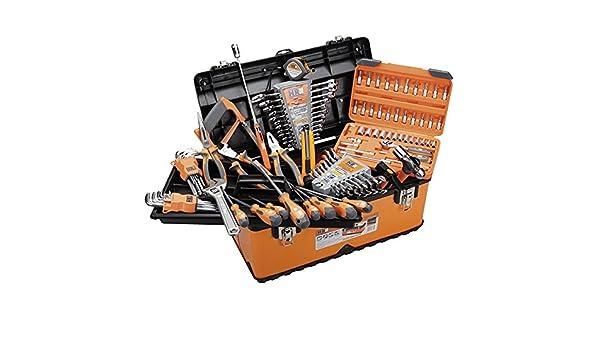 ALYCO 170786 - Caja metalica 510 mm High Resistace con 102 herramientas: Amazon.es: Bricolaje y herramientas