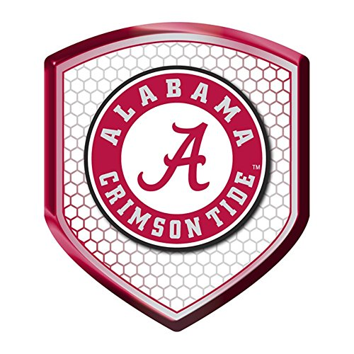 (NCAA Alabama Crimson Tide Team Shield Automobile Reflector)