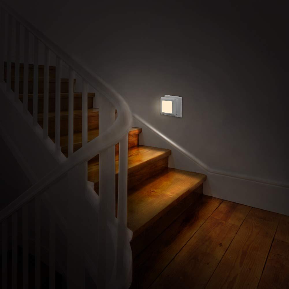 Küche Led Nachtlicht mit Dämmerungssensor Schlafzimmer Warmweiß ...