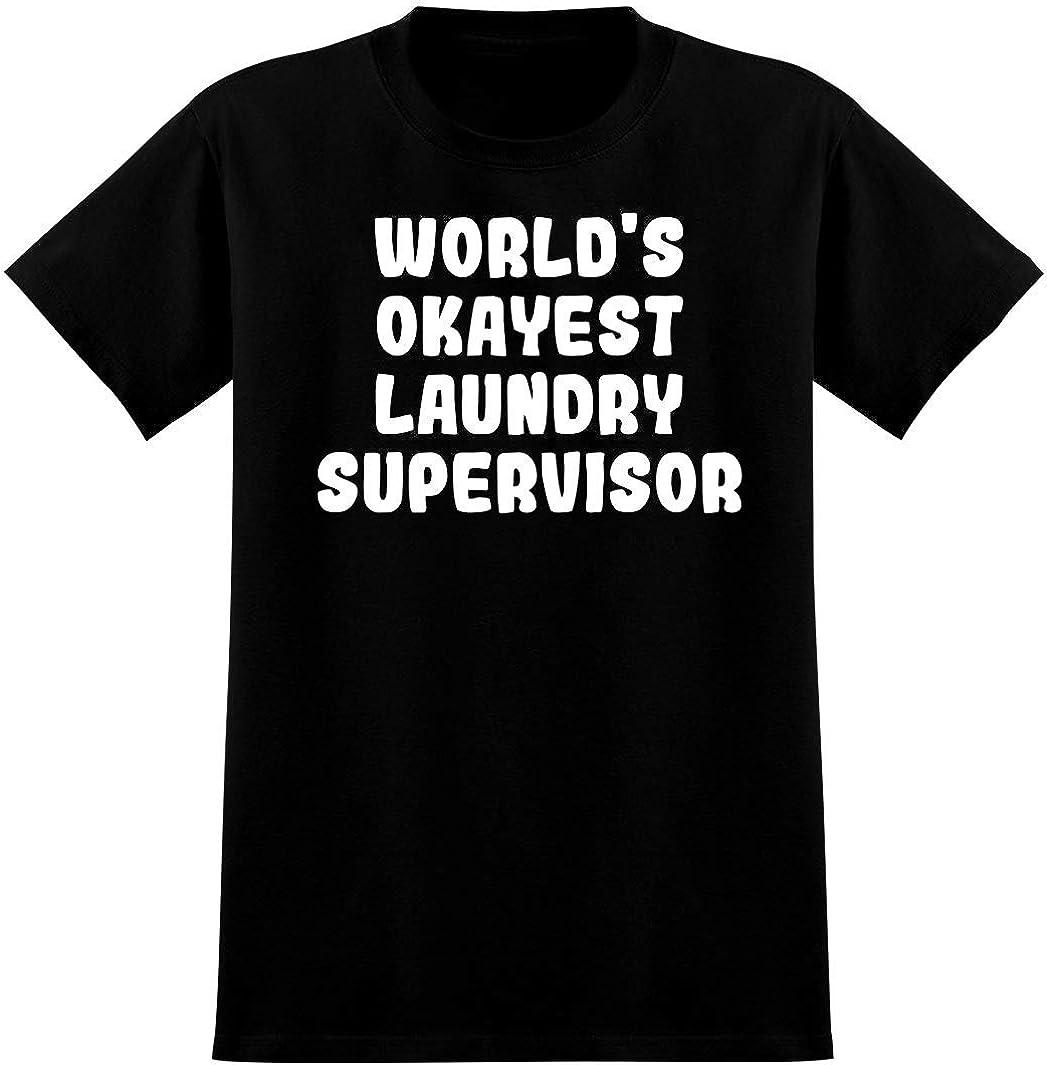World's Okayest Laundry Supervisor - Soft Men's T-Shirt